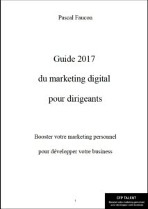 Le Guide 2017 du marketing_Pascal Faucon Couverture